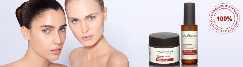 חוה זינגבוים- תכשירים לצוואר ומחשוף - Yvonne Cosmetics