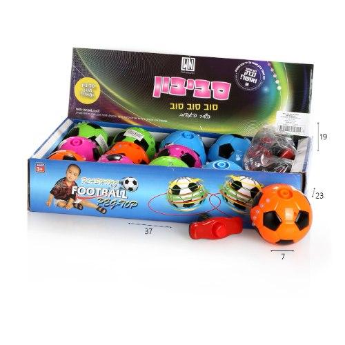 סביבון כדורגל מנגן בעברית
