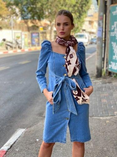 שמלת ג'ינס קלואה
