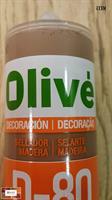 חומר מילוי לעץ ופרקט במגוון צבעים תוצרת OLIVE, ספרד.