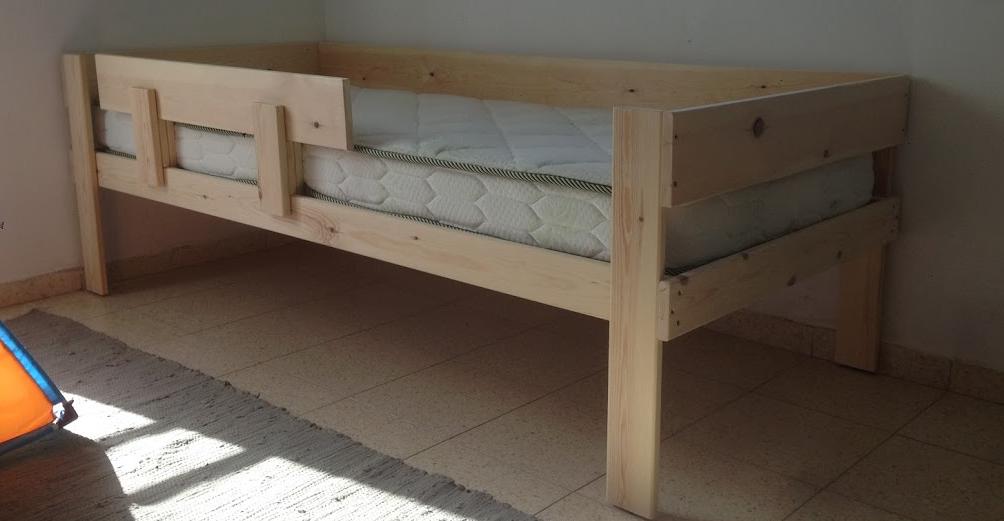 מיטת ילדים ונוער  1.90