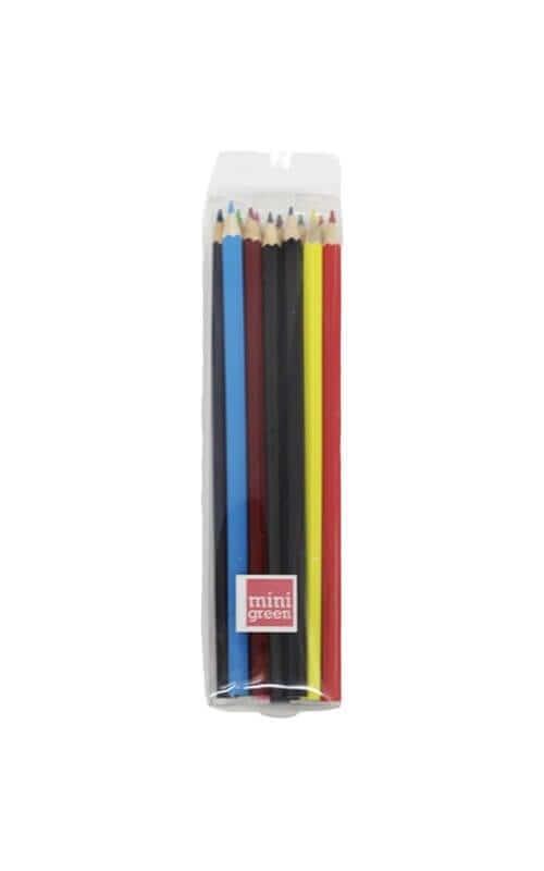 חבילת עפרונות צבעוניים- 12 יחידות