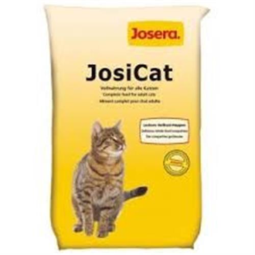 """ג'וסיקט מזון לחתולים 18 ק""""ג מלא ומועשר"""
