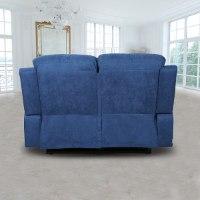 ספה 2 מושבים סיאסטה בד כחול