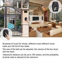 פעמון אלחוטי forecum עם 36 מנגינות  מעוצב לדלת עמיד למים