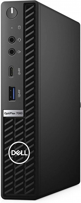מחשב נייח  DELL 7080 MFF OptiPlex I7-10700/512GB SSD/16GB