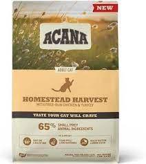 """אקנה הרווסט לחתול 1.8 ק""""ג - acana homestead harvest"""
