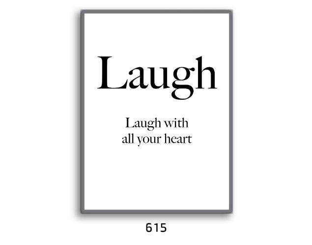 תמונת השראה LAUGH לצחוק מכל הלב דגם 615