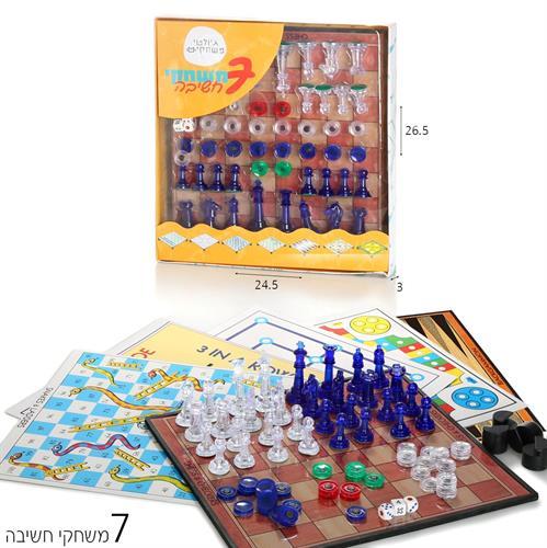 7 משחקי לוח
