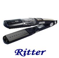 מחליק שיער סטימר קראטין XSZ-02-25 טיטניום מראה טורמלין   שמירת חום עד 230 מעלות