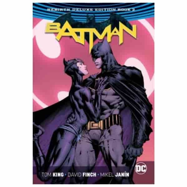 Batman Rebirth Deluxe Hard Cover Book 2