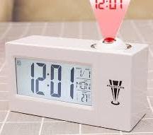 שעון מעורר מקרן לתקרה 618