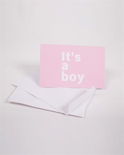 כרטיס ברכה It's a boy