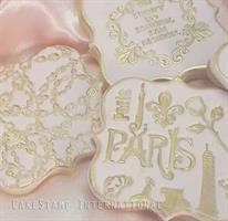 Paris France -  texture mat