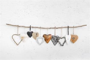 ענף עם 10 לבבות