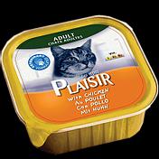 מעדן לחתול פלסיר עוף 100 גרם