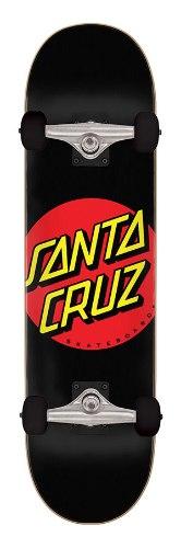 "Santa Cruz Classic Dot 8"" Complete Skateboard"