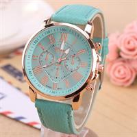שעון יד יפהפה לנשים ולגברים בשלל צבעים