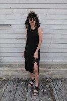 שמלת הדרה שחורה