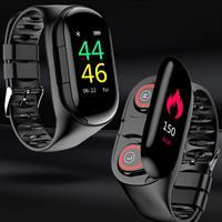שעון ספורט חכם ואוזניות TWS באחד- Allinwatch