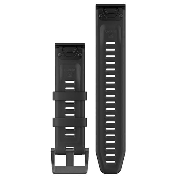 רצועה שחורה מקורית לשעון Garmin Fenix 5 QuickFit 22 Watch Bands