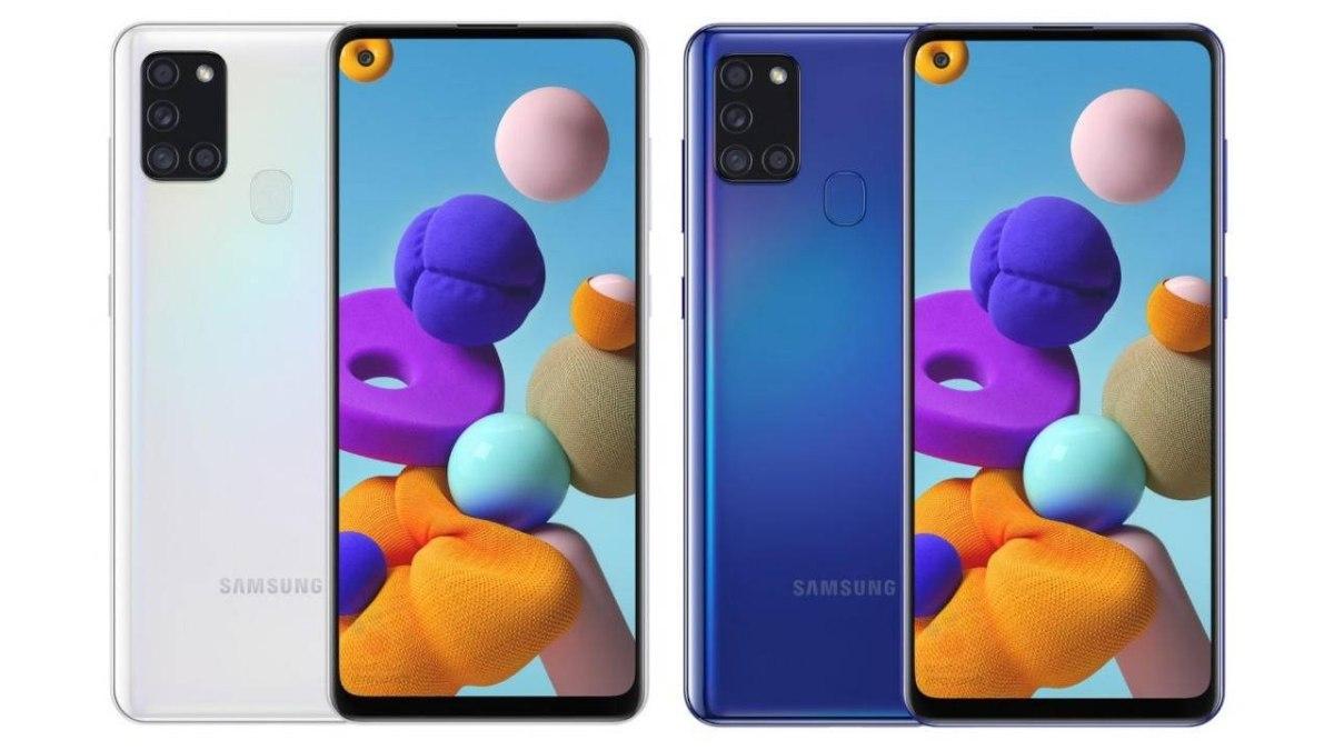 Samsung Galaxy A21S SM-A217F/DSN 64GB 4GB RAM יבואן רשמי סלקום ערכה סגורה