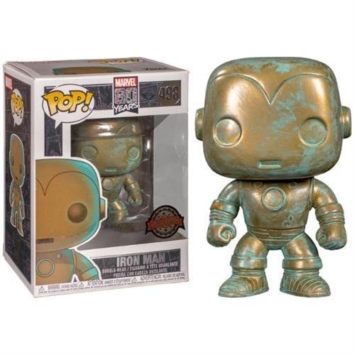 פופ! מארוול 80 שנה - איירון מן (אקסקלוסיבי)