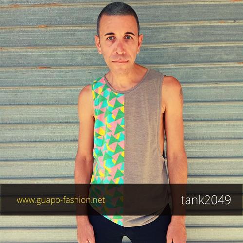 גופייה מעוצבת לגברים gays fashion top