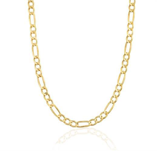 שרשרת חוליות זהב לגבר דגם פיגרו