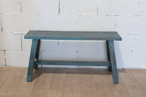 ספסל ישיבה כחול