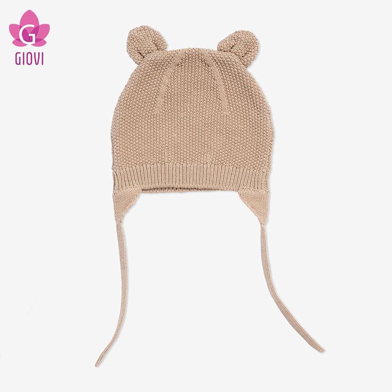 כובע עם אוזני חתול(חום)