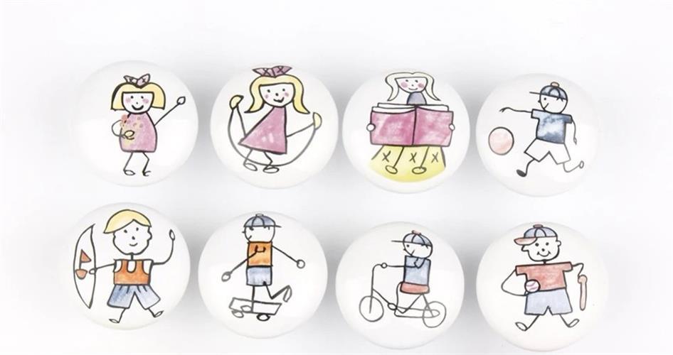 ידיות - ציור ילדים
