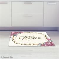 שטיח Kitchen ורוד עתיק| שטיחים | פי וי סי | PVC | שטיח למטבח | מטבח | עיצוב מטבחים | מתנות