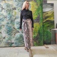 חצאית מעטפת - SNAKE