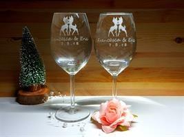 זוג הכוסות לרומנטיקה דיסני סטייל