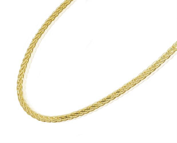 שרשרת זהב לאישה מלאת נוכחות