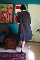 ג'קט או בלייזר או שמלה שחור לבן היסטרי מידה XL