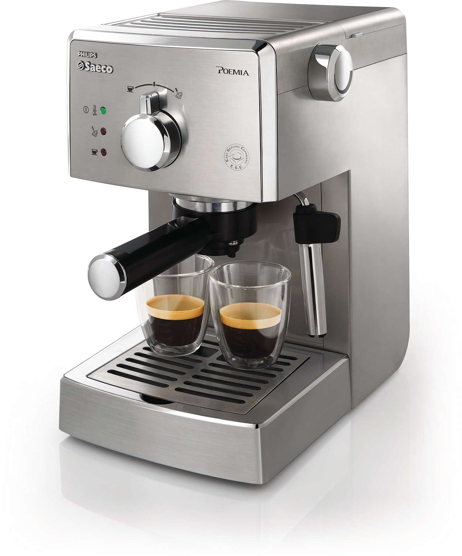 מכונת אספרסו Poemia Manual Espresso HD8327
