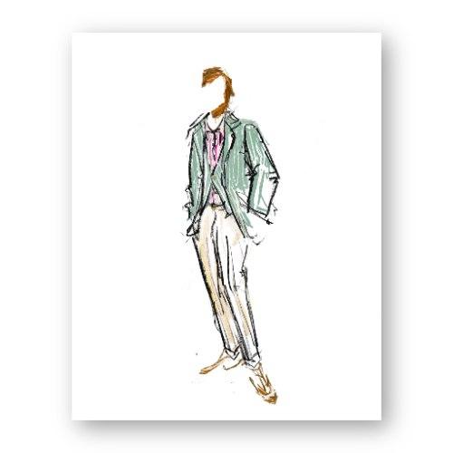 איור אופנה #17