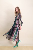 שמלת שיפון פרחים princess