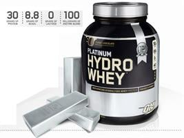 (OPTIMUM NUTRITION PLATINUM HYDRO WHEY (1.6 kg