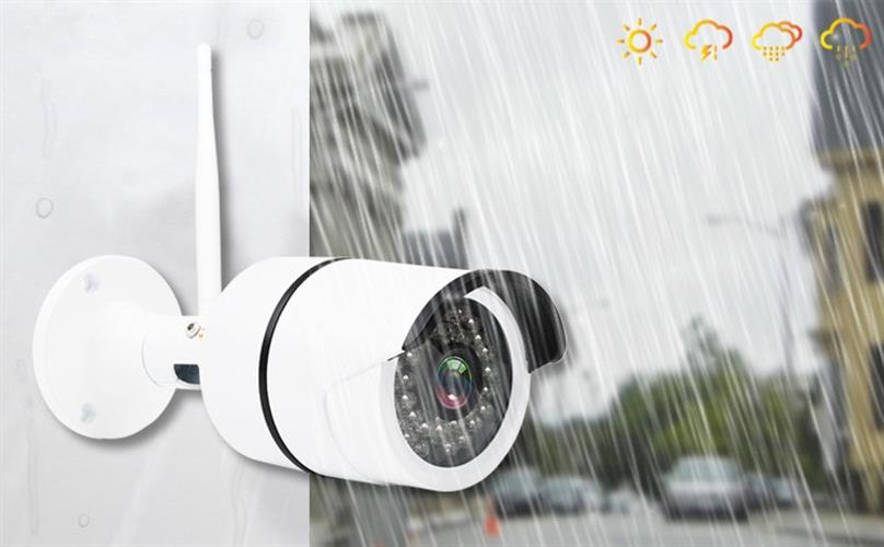 מצלמת אבטחה אלחוטית  Full HD 1080P עמידה במים Wifi IP 2.0MP שימוש חיצוני ופנימי