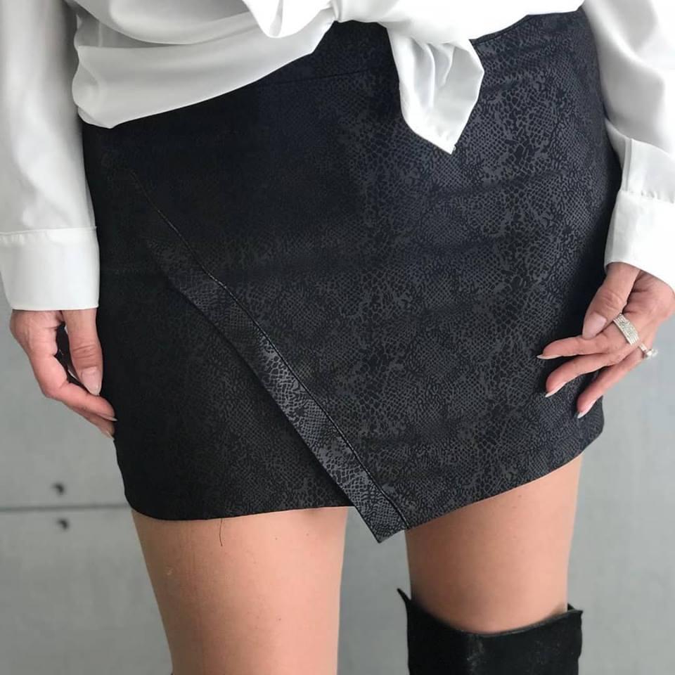 חצאית רוכסן THOMAS