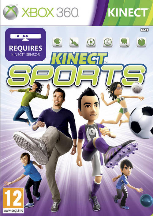 kinect sports 1 xbox 360