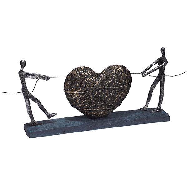 """פסל """"בלב אחד"""""""