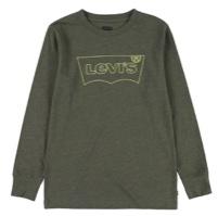 LEVIS טישרט שרוול ארוך ירוק זית מידות 1-15 שנים