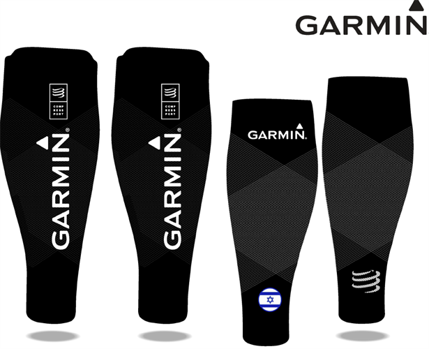 זוג שרוולי לחץ לשוקיים פרו עלית דגם GARMIN 2019