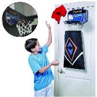 סל כביסה בצורת מתקן כדורסל