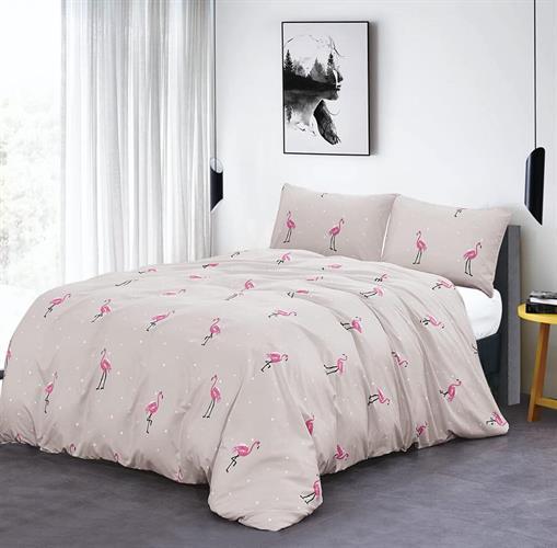 סט מלא מיטה וחצי דגם פלמנגו 5 צבעים