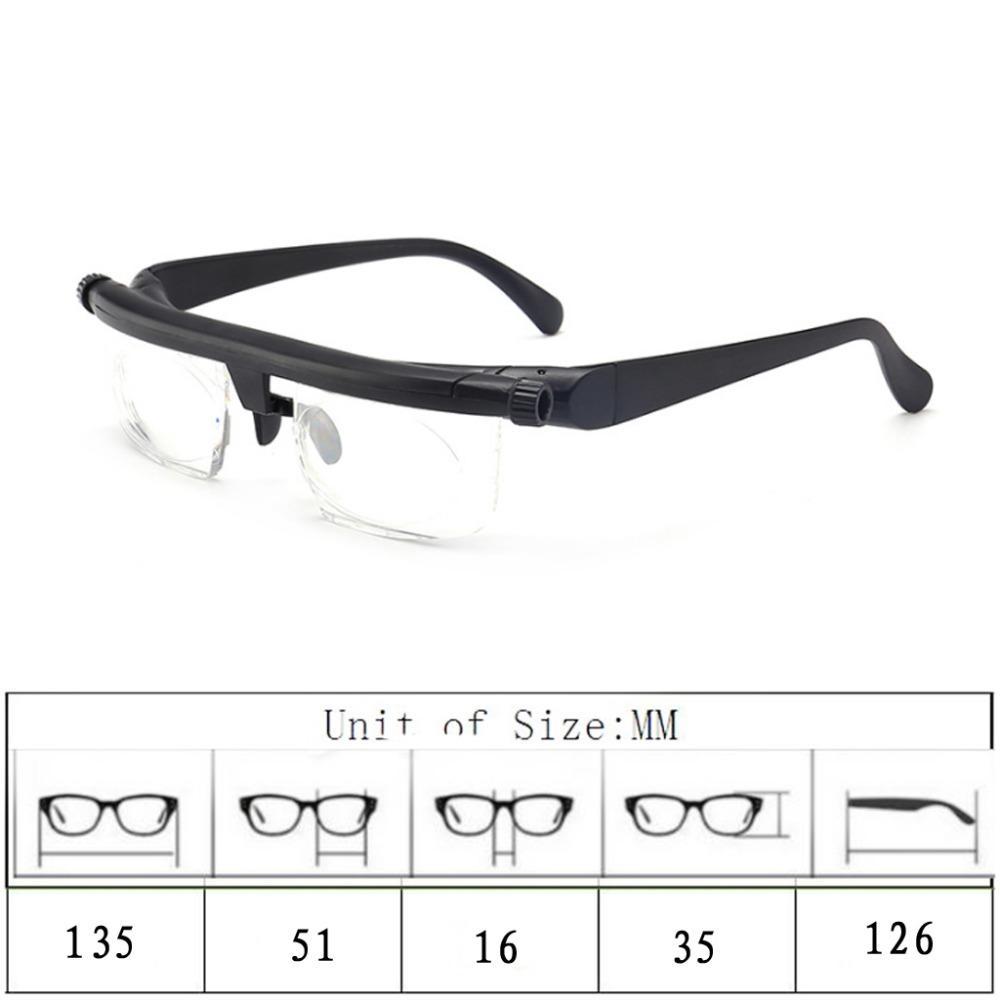 משקפי ראייה צילינדר מתכוונן 👓ללא צורך בבדיקת עיניים